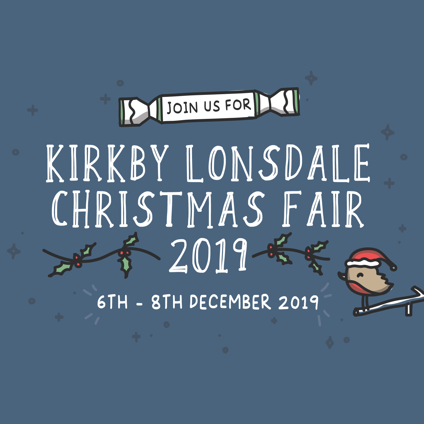 Join us for Kirkby Lonsdale Christmas Fair 2019 6th - 8th December