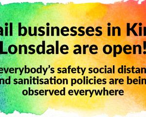 Retail business in Kirkby Lonsdale are open!