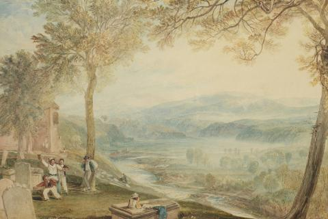 Ruskins View by JMW Turner