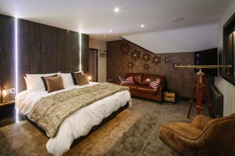Absoluxe Suites in Kirkby Lonsdale - The Columbus bedroom