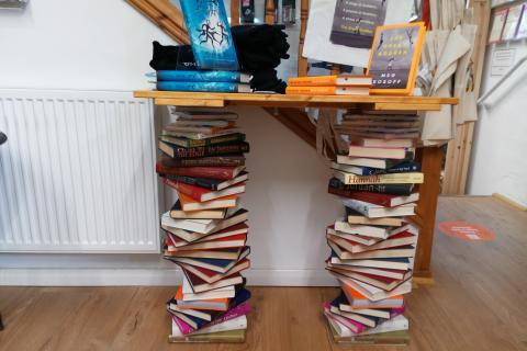 The Book Lounge - Book Table