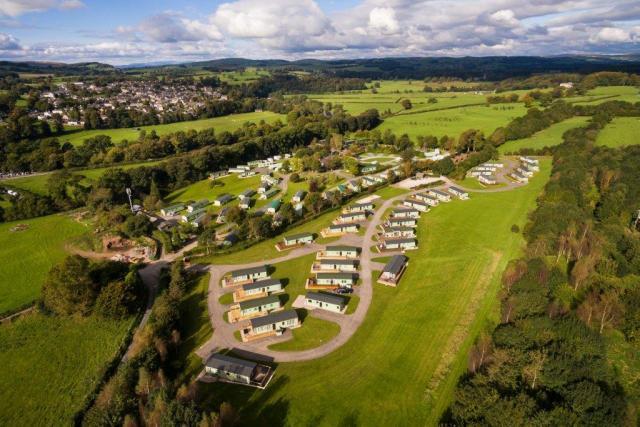 Woodclose Caravan park, Kirkby Lonsdale